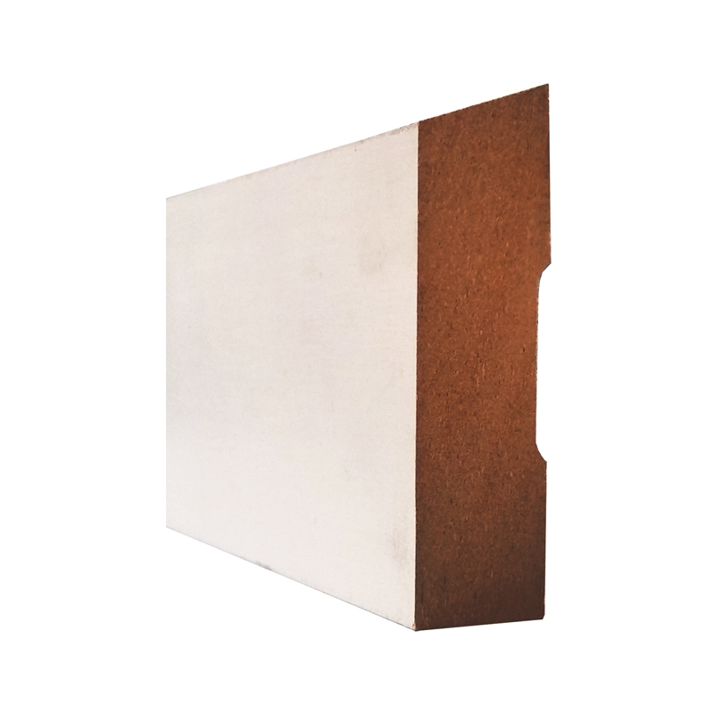 Hume Doors & Timber 92 x 18mm 5 4m Primed MDF Bevelled Moulding