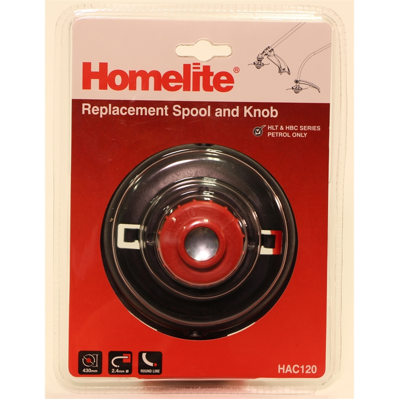 Homelite 2 4mm Fixed Line Replacement Trimmer Head