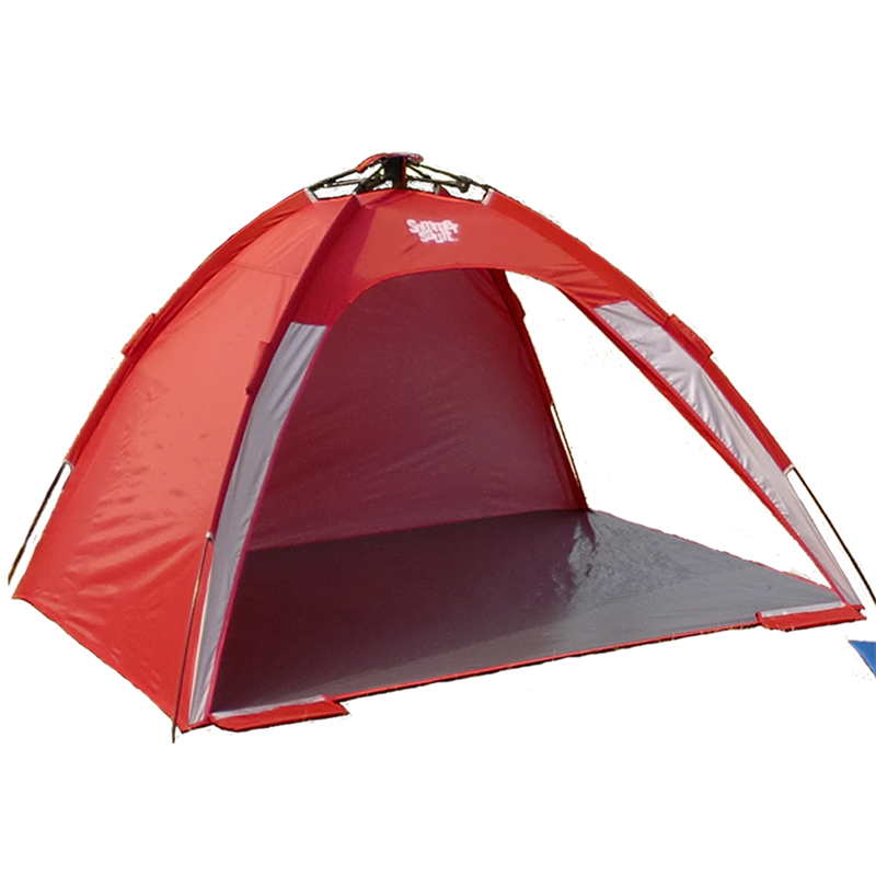 Sommersault 200 x 200 x 130cm Red Pop Up Beach Shelter | Bunnings Warehouse  sc 1 st  Bunnings Warehouse & Sommersault 200 x 200 x 130cm Red Pop Up Beach Shelter | Bunnings ...