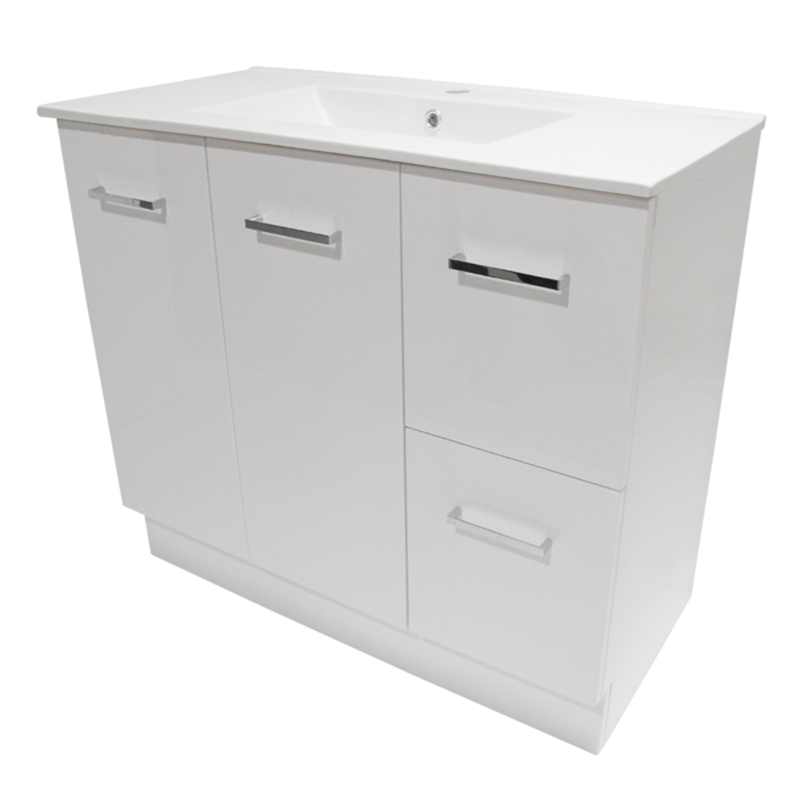 900 x 460mm Cadenza Vanity Unit With 1 Tap Hole