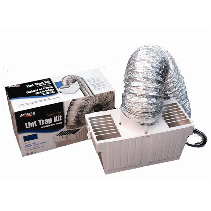 deflecto dryer vent system internal lint trap kit