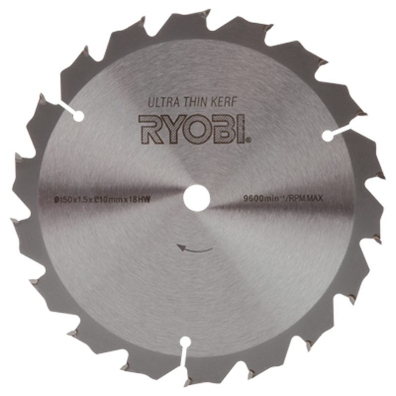 Ryobi 150mm circular saw blade ebay ryobi 150mm circular saw blade greentooth Image collections
