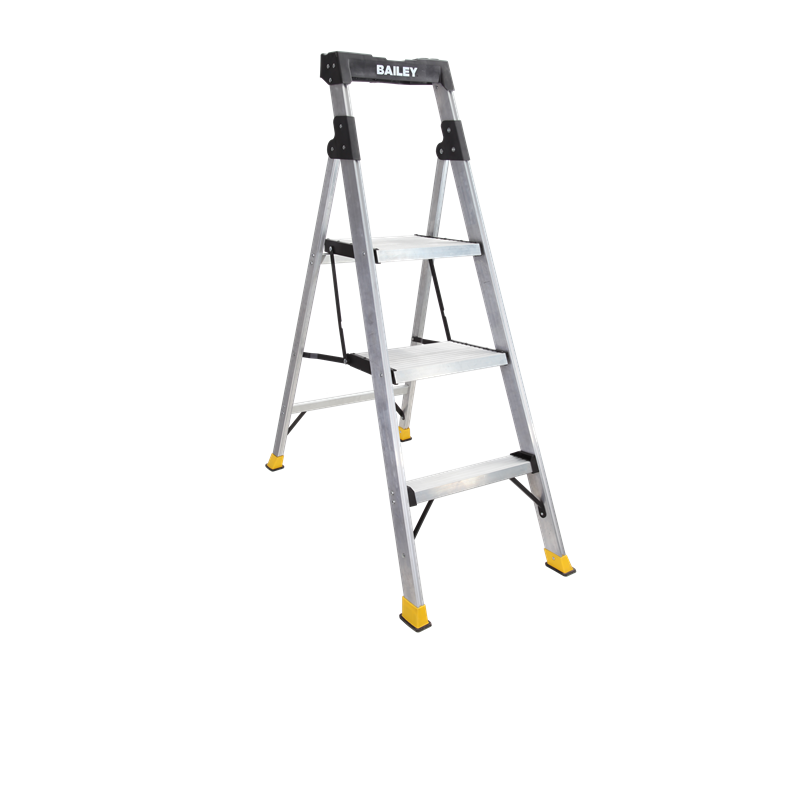 Bailey 120kg 3 Step Hybrid Stool Step Ladder Bunnings