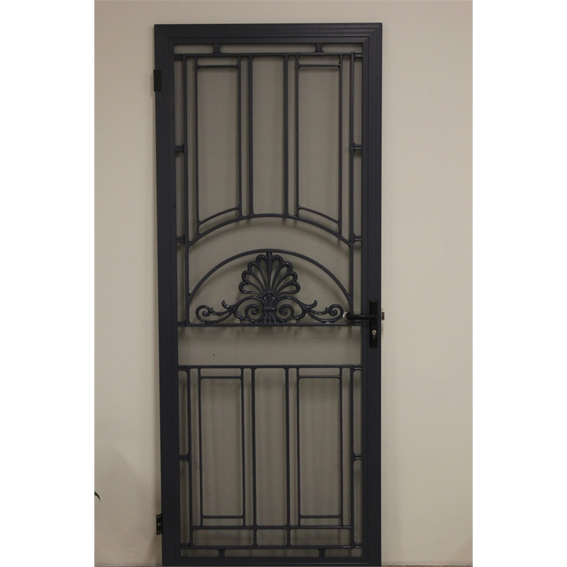 Cowdroy harrington custom made colonial barrier screen door for Decorative screen doors
