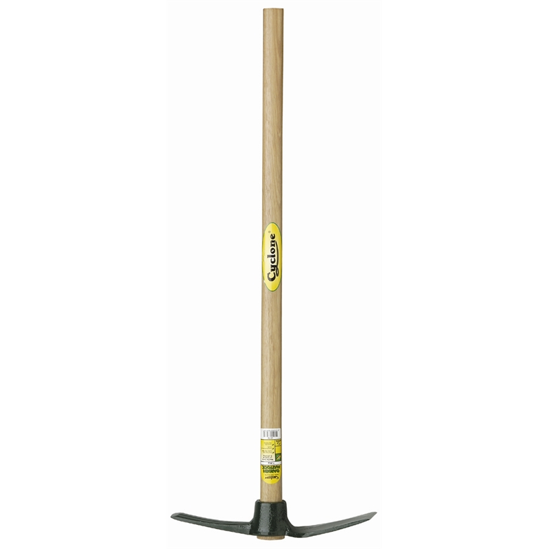 cyclone chisel end garden mattock bunnings warehouse