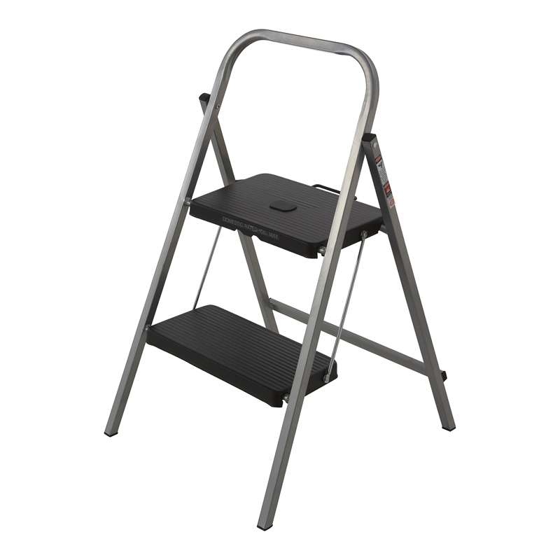 Cosco 3. Syneco 100kg 2 Step Steel Folding Step Ladder  sc 1 st  Bunnings Warehouse : cosco steel step stool 3 step - islam-shia.org