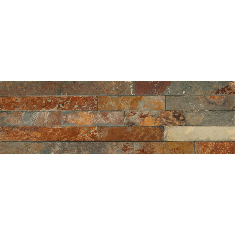 Decor8 tiles 400 x 125mm antique sienna panelstone for Decor8 tiles