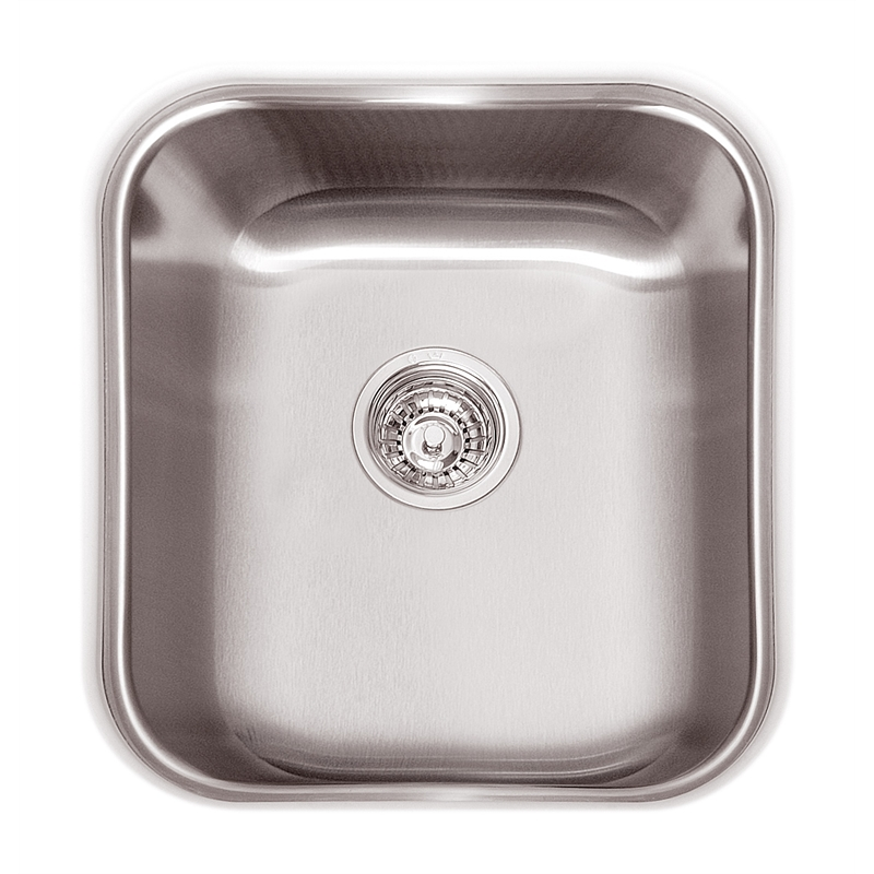 Abey Australia Single Bowl Hawksbury Undermount Sink | Bunnings ...