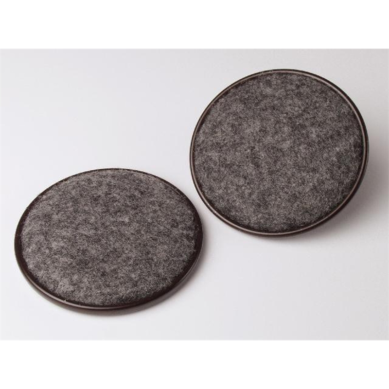 Castor Cup Round Tic 51mm Rnd Brn Carpet Base 25677