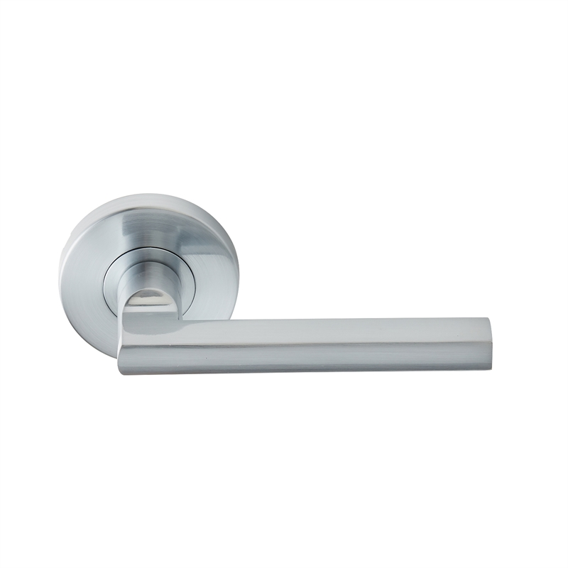 Delf Trade Satin Chrome Madrid Dummy Lever Set Bunnings
