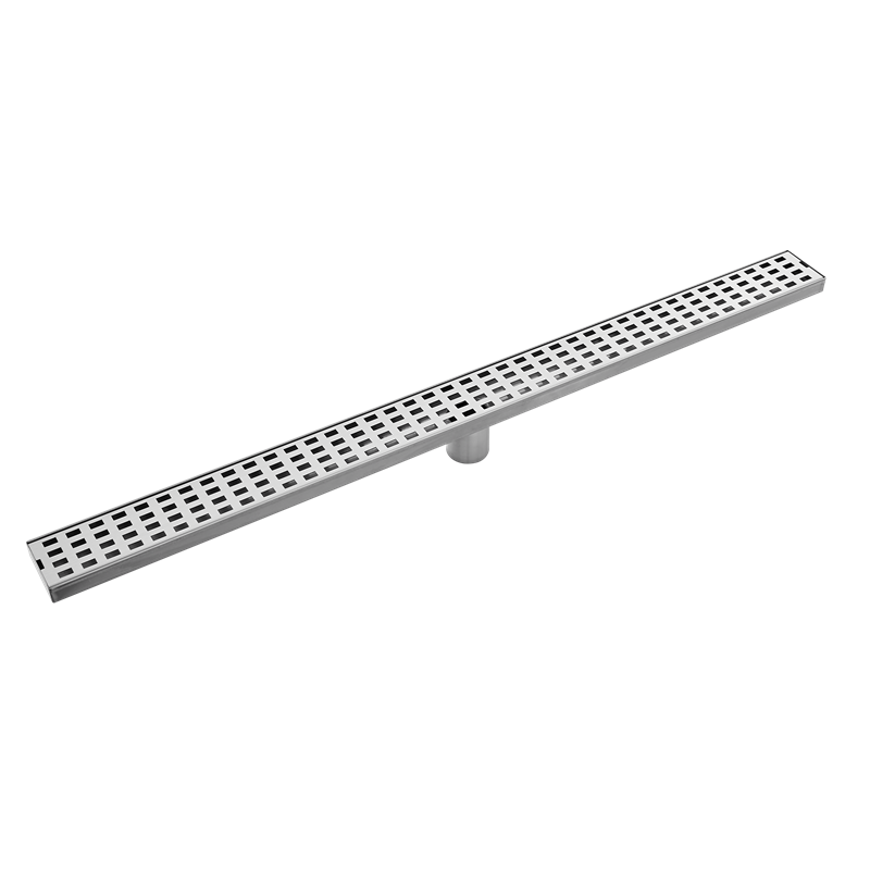 Rococo 900mm Stainless Steel Rectangular Floor Grate