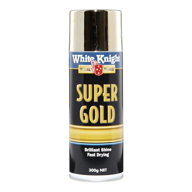 Bunnings White Knight White Knight 300g Super Gold Spray Paint Compare Club