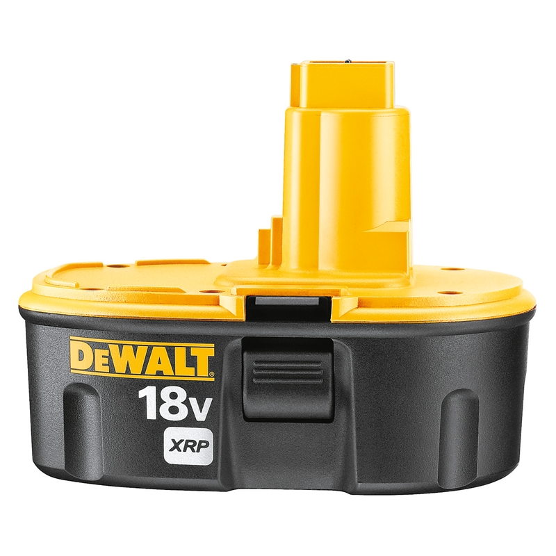 dewalt 18v xrp ni cad 2 4ah battery bunnings warehouse. Black Bedroom Furniture Sets. Home Design Ideas