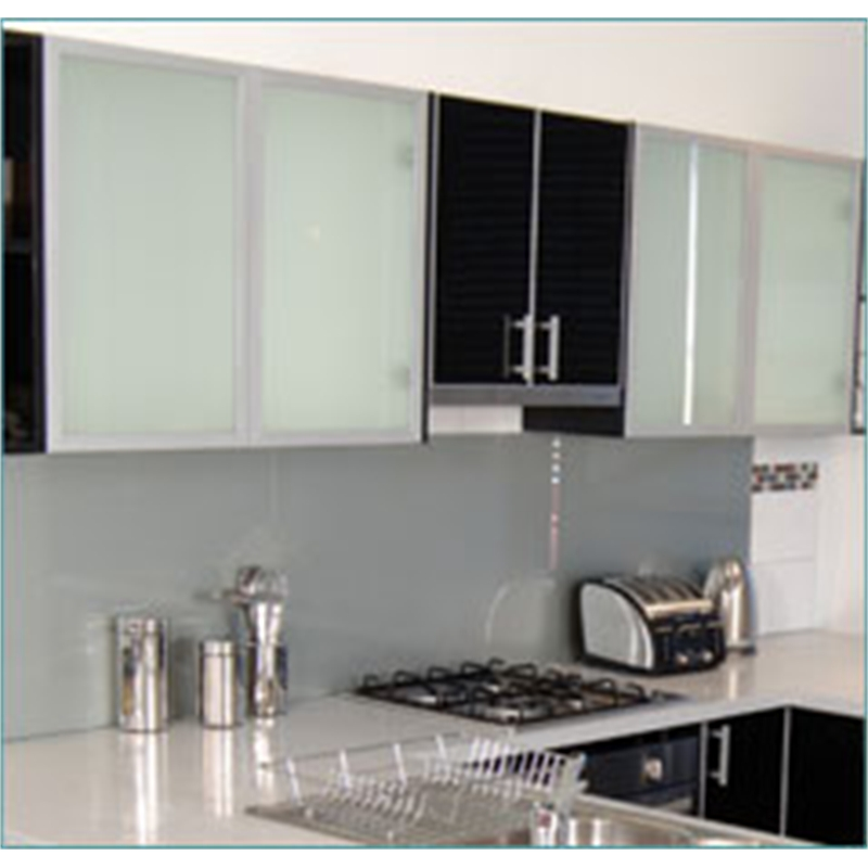 kaboodle 400mm frosted glass cabinet door | bunnings warehouse