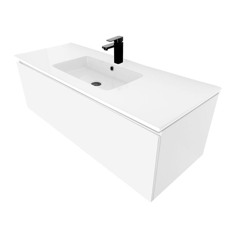 Bathroom Vanity Lights Bunnings cibo design 1200mm white revive vanity | bunnings warehouse