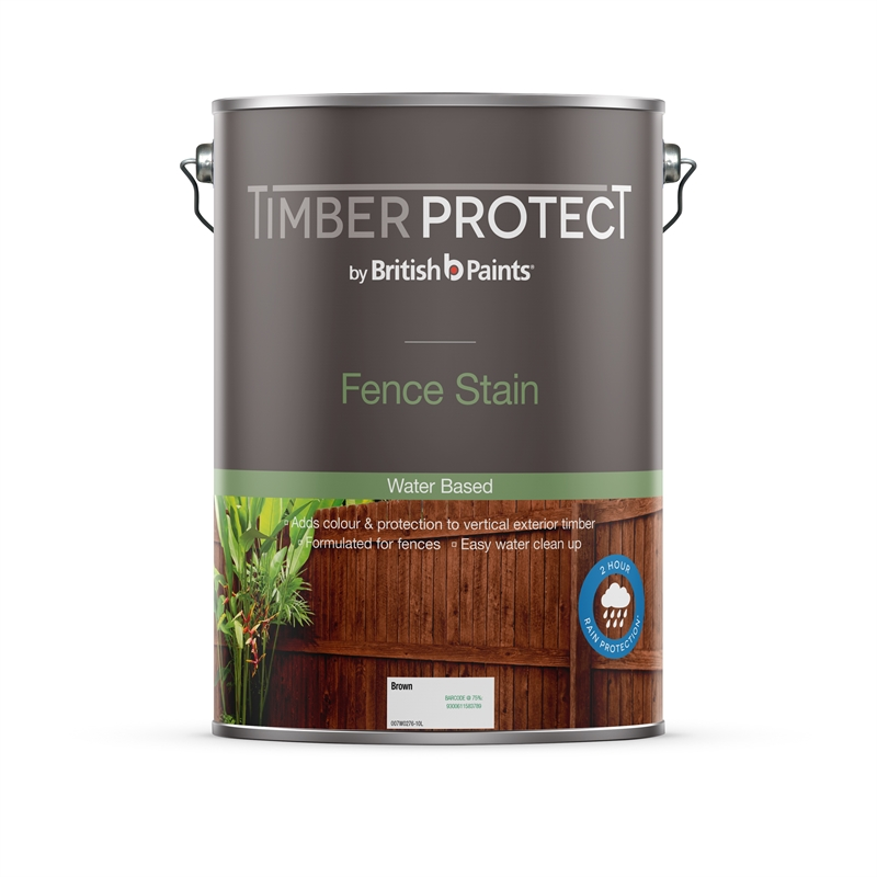 Timber Protect 10l Brown Fence Stain