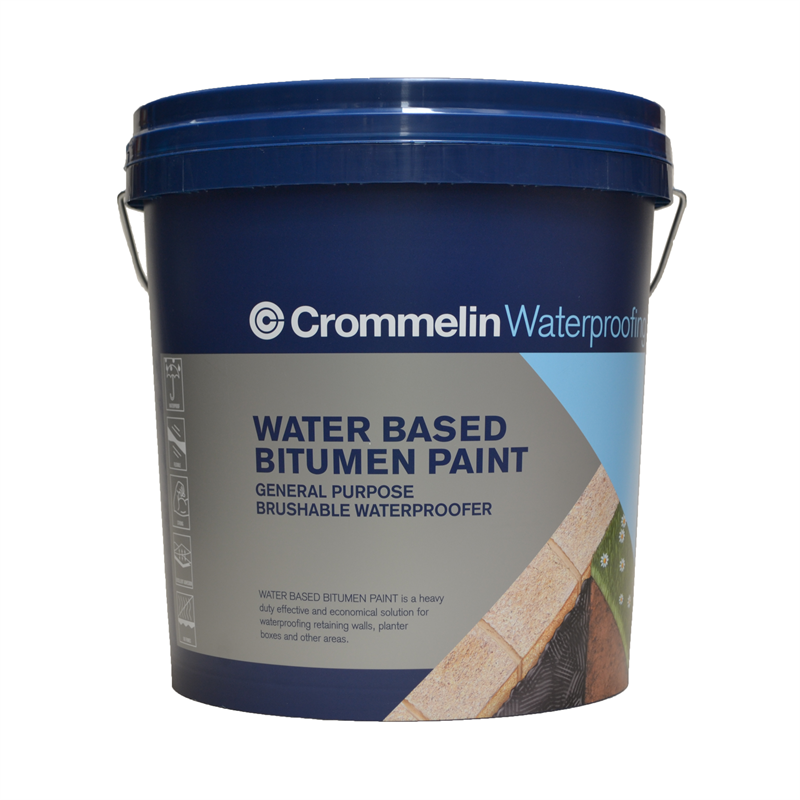 Crommelin 15L Water Based Bitumen Paint