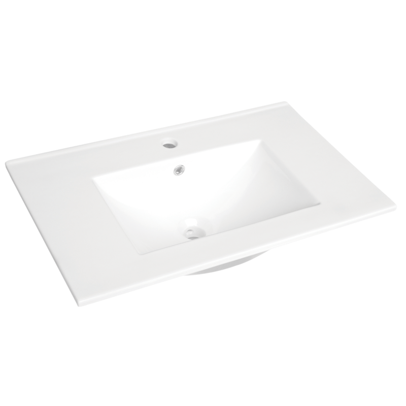 Cadenza 750mm Ceramic Basin Only 1TH
