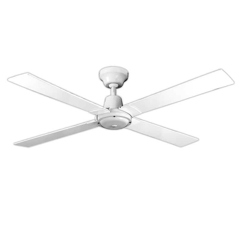 Arlec 120cm 4 Blade White Ceiling Fan