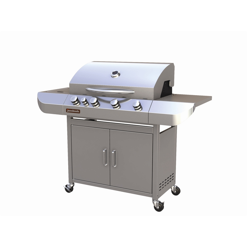 Stainless Steel 4 Burner Forum Hooded BBQ