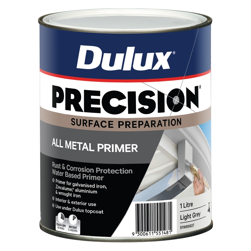 Dulux precision 1l all metal primer bunnings warehouse - Paint for exterior walls set ...