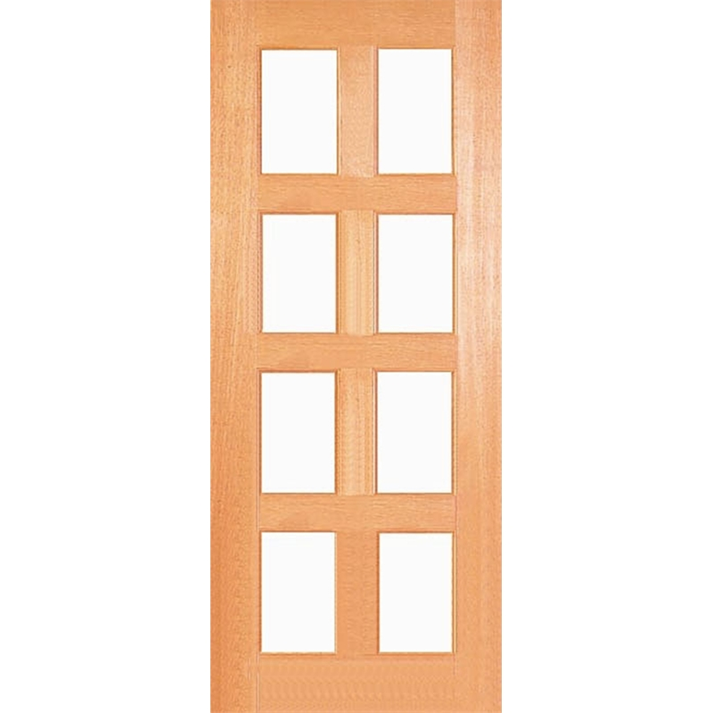 Woodcraft Doors 2040 x 820 x 40mm Kensington Clear Safety Glass Entrance Door  sc 1 th 225 : 2040 doors - pezcame.com