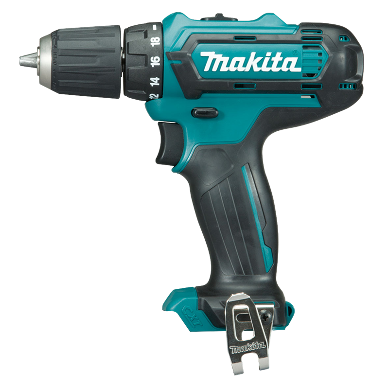 makita cxt 12v max cordless drill driver skin only bunnings warehouse. Black Bedroom Furniture Sets. Home Design Ideas