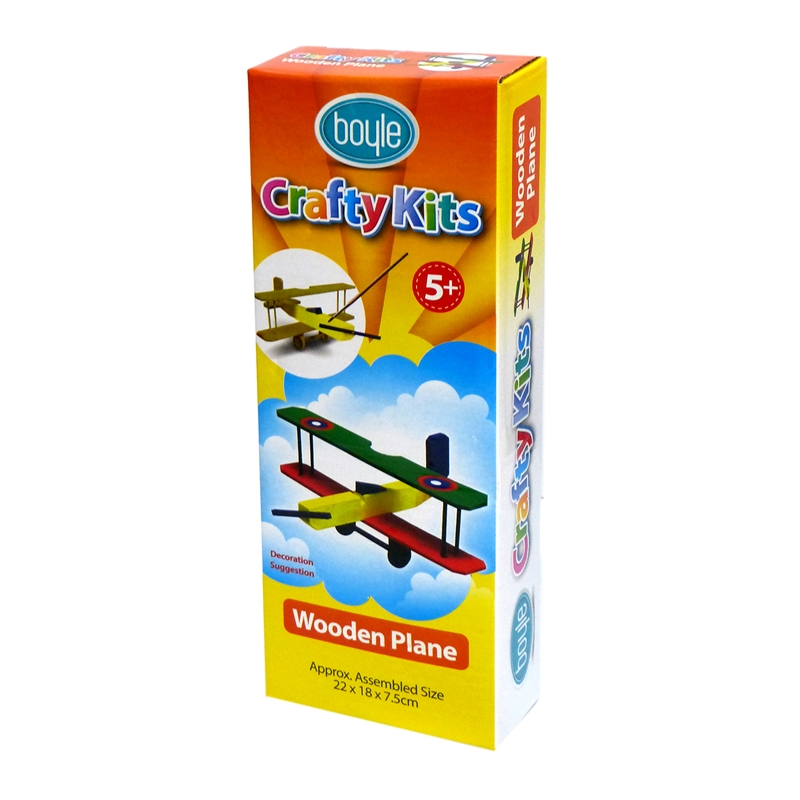 Boyle Wooden Plane Crafty Kit
