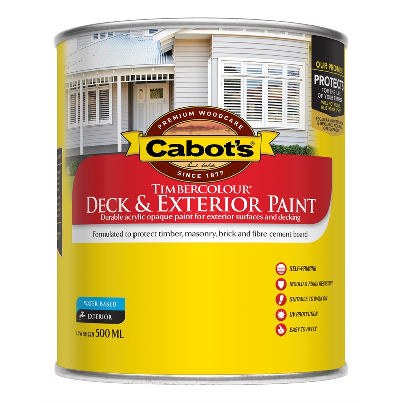 Cabot 39 S 500ml Indian Red Timbercolour Deck Exterior Paint