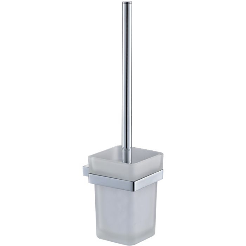 Rumba Chrome Toilet Brush And Holder