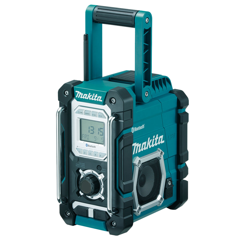 makita 7 2 18v bluetooth cordless job site radio. Black Bedroom Furniture Sets. Home Design Ideas