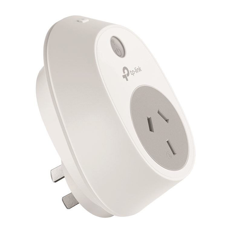 TP-Link White And Grey Smart Wi-Fi Wall Plug