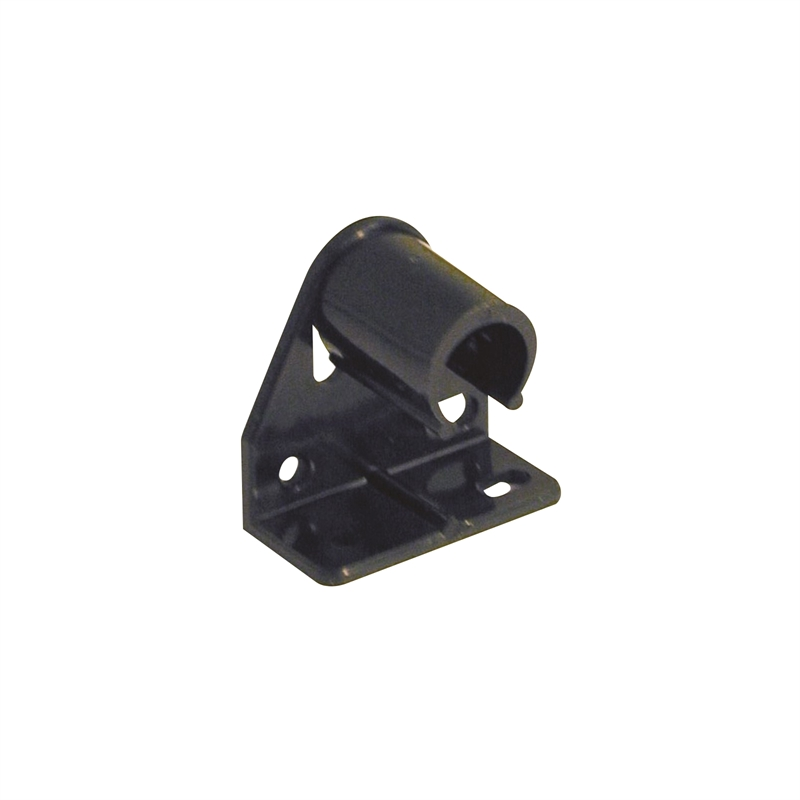 Windoware Black Curtain Rod Muslin Bracket