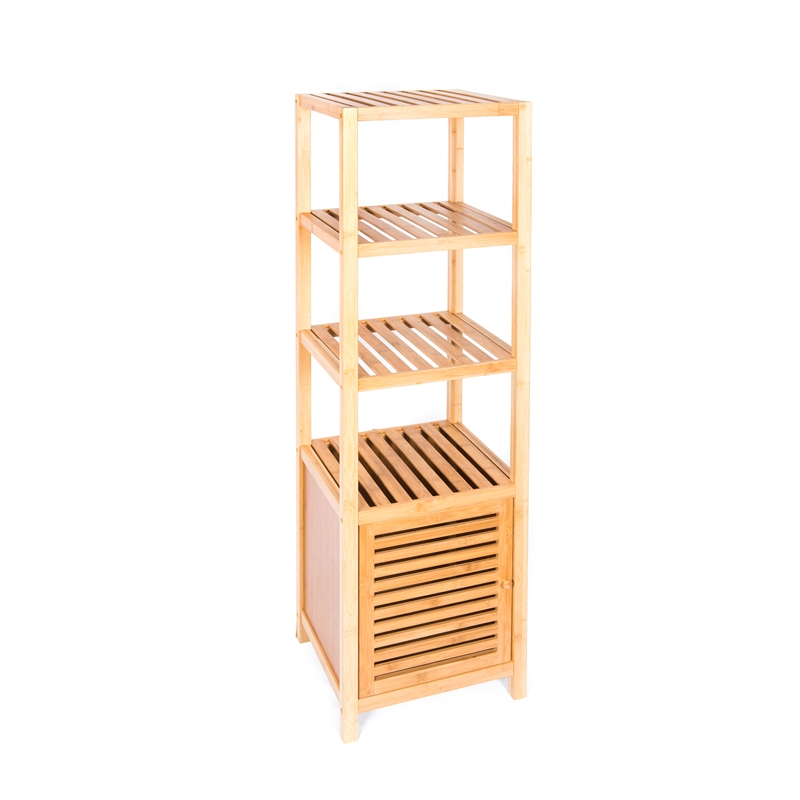 Evoque Bamboo Bathroom Storage Cabinet