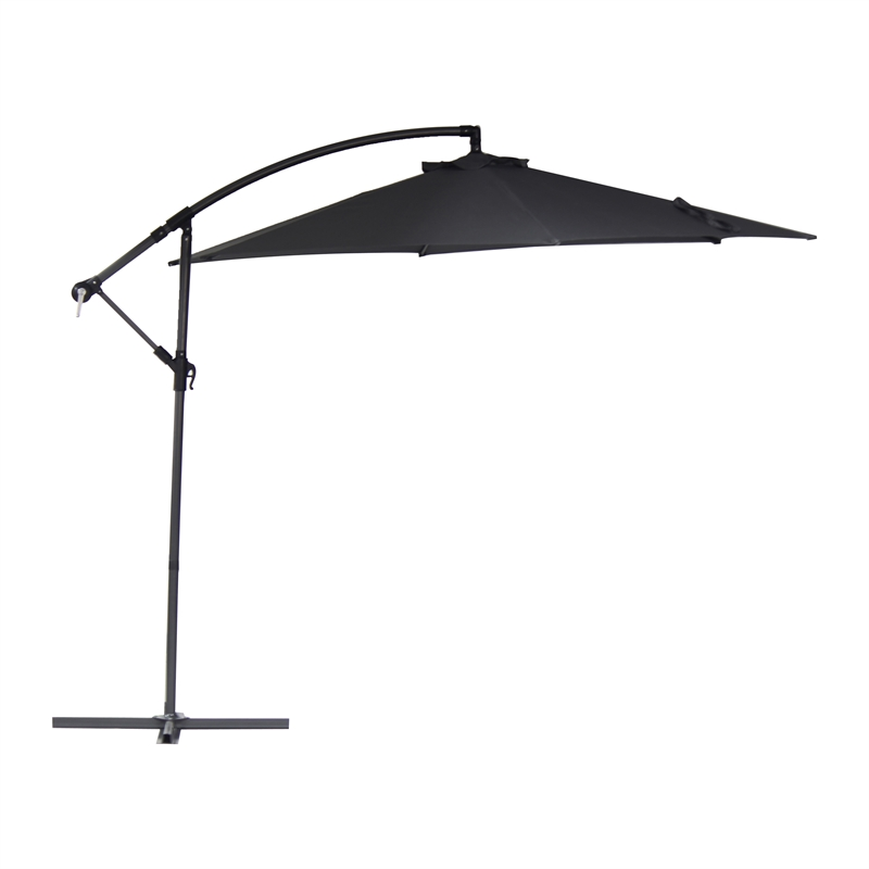 marquee 3m charcoal cantilever umbrella