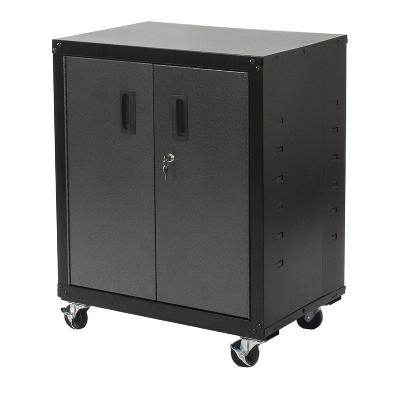 Romak Two Door Mobile Garage Cabinet I N 2760202