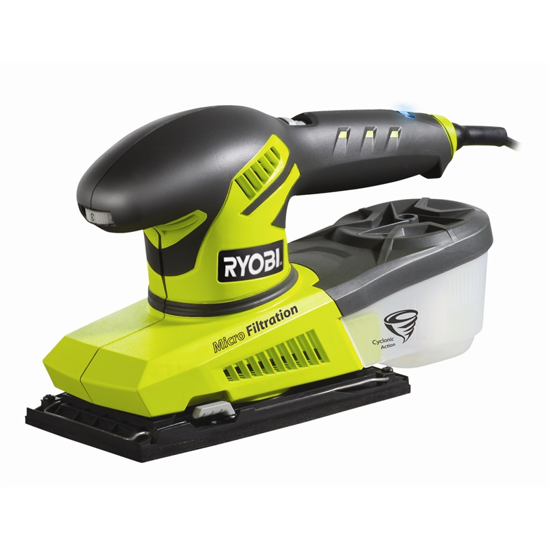 ryobi 280w 1 3 sheet sander bunnings warehouse. Black Bedroom Furniture Sets. Home Design Ideas