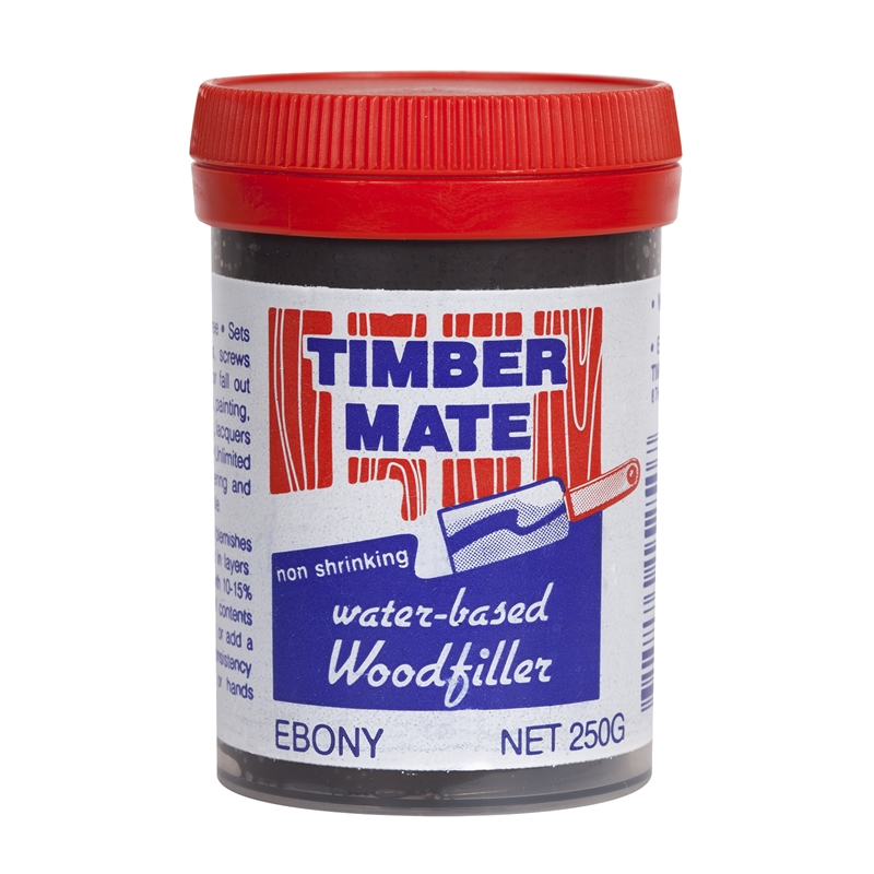 Timbermate 250g Ebony Wood Filler