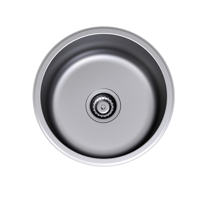 . Clark Round Bowl Overmount Sink   Bunnings Warehouse