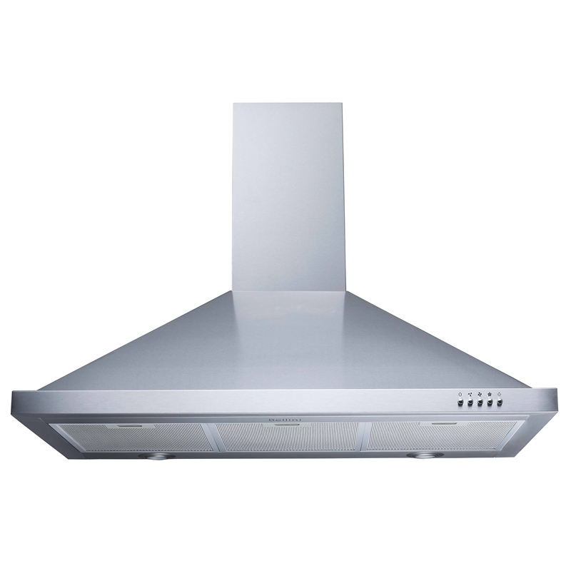 Bellini 90cm Stainless Steel Canopy Rangehood Bunnings