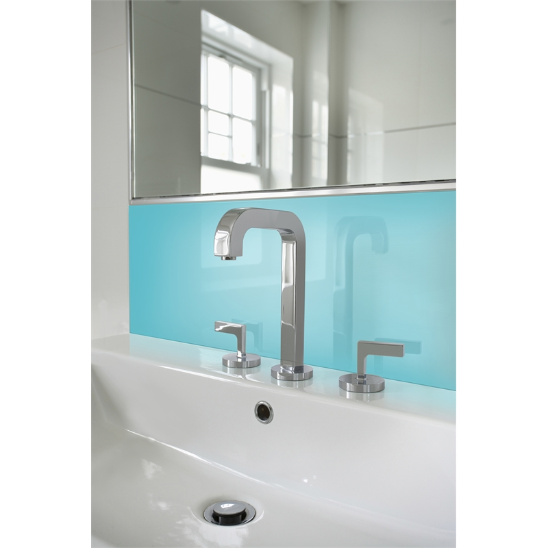 Vistelle  X Mm Sky High Gloss Acrylic Vanity Splashback