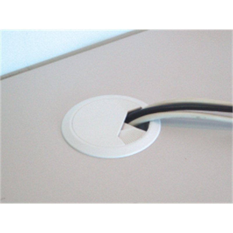 Cable Management Cordcovr Zone Desk Cover White Cc0192