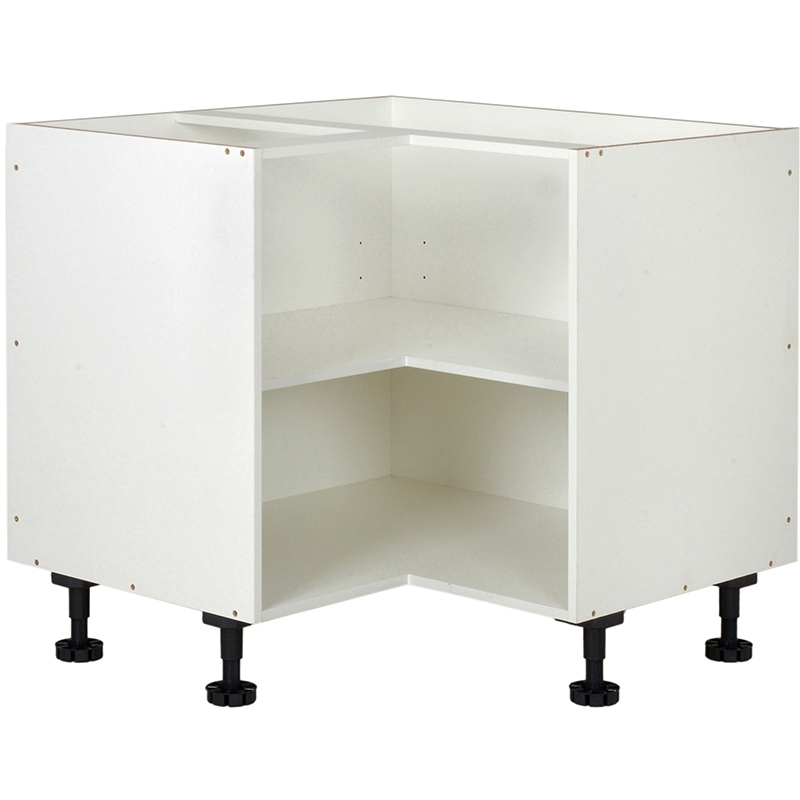 Kitchen Cabinets Bunnings Of Kaboodle 900mm White Corner Base Cabinet Bunnings Warehouse