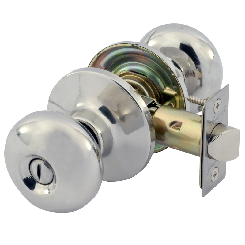 Superbe Gainsborough Manning Stainless Steel Door Knob Privacy Set
