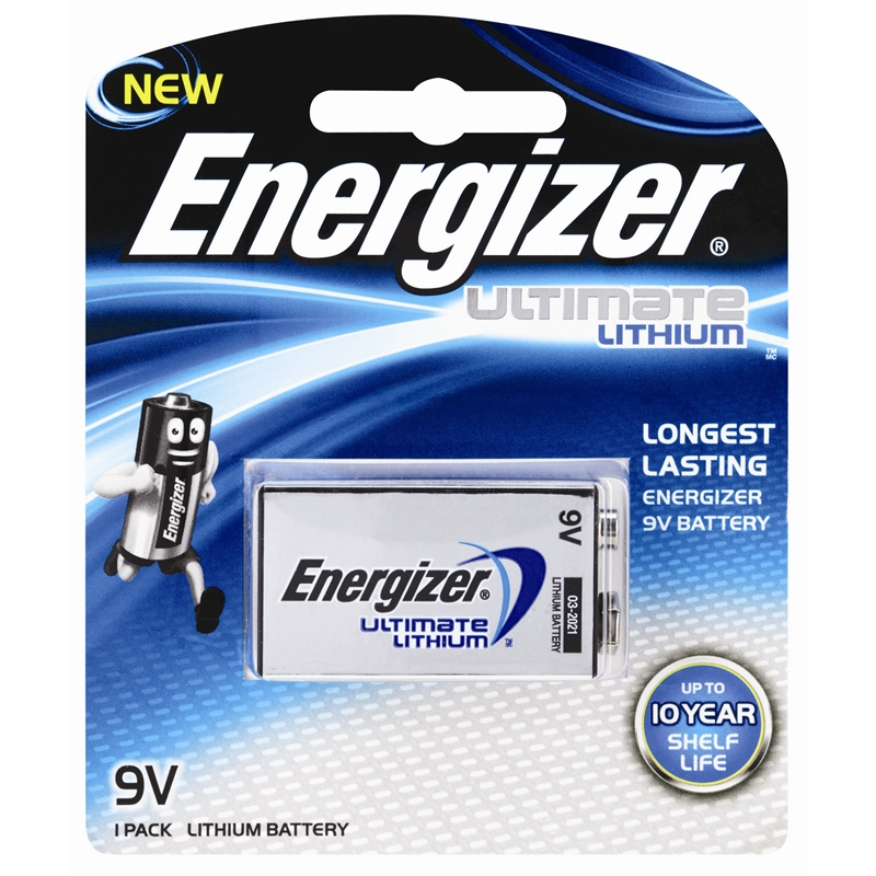 bunnings energizer energizer 9v ultimate lithium battery. Black Bedroom Furniture Sets. Home Design Ideas