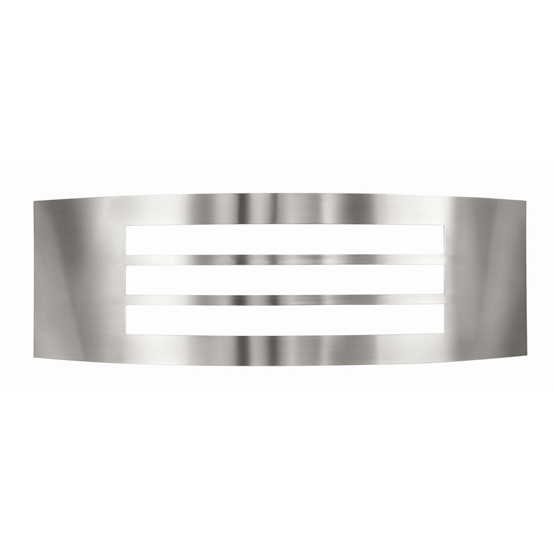 Brilliant Queenslander Narrow Grill Exterior Wall Light