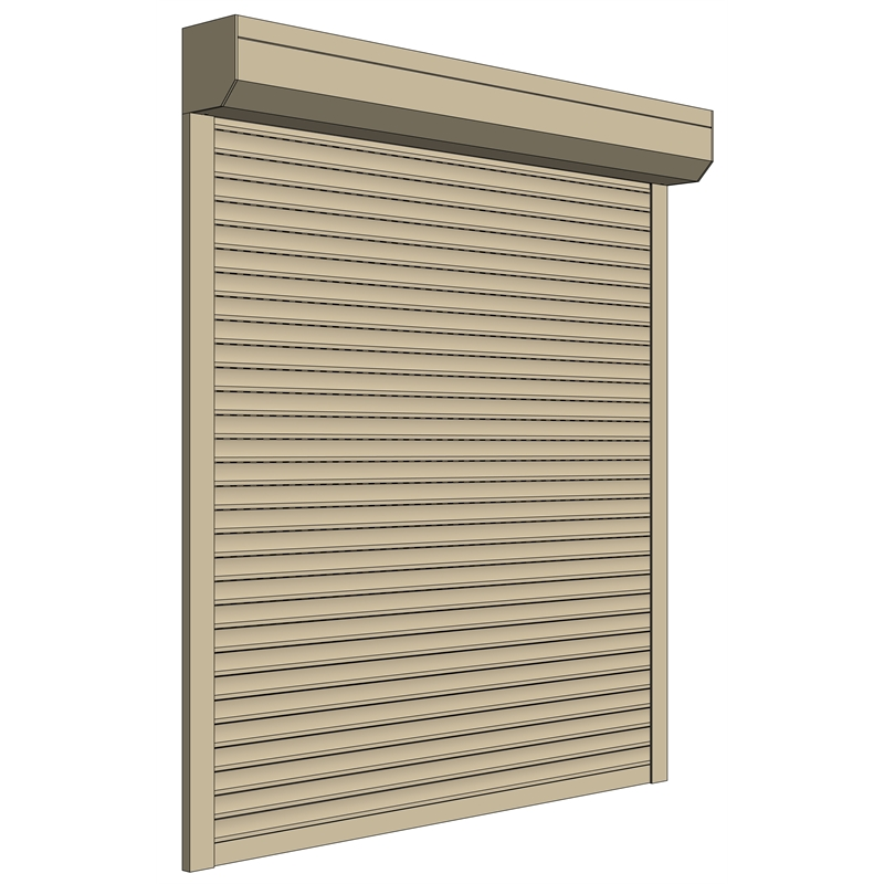 Ezy-Fit 1600 x 1200mm Up To 1799 x 1399mm Classic Cream Custom Made Motorised Roller Shutter