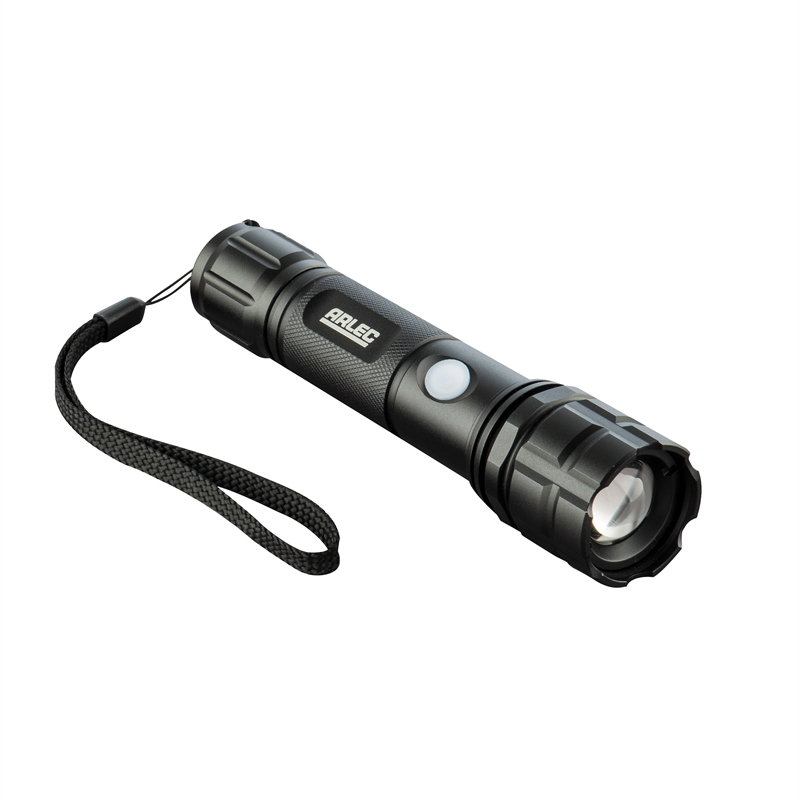 Arlec Rechargeable Led 300 Lumen Torch Bunnings Warehouse