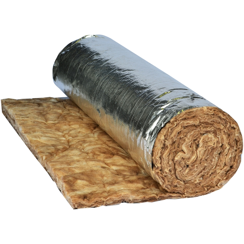 Earthwool R 1 3 55mm 18m2 Space Blanket Under Metal Roof