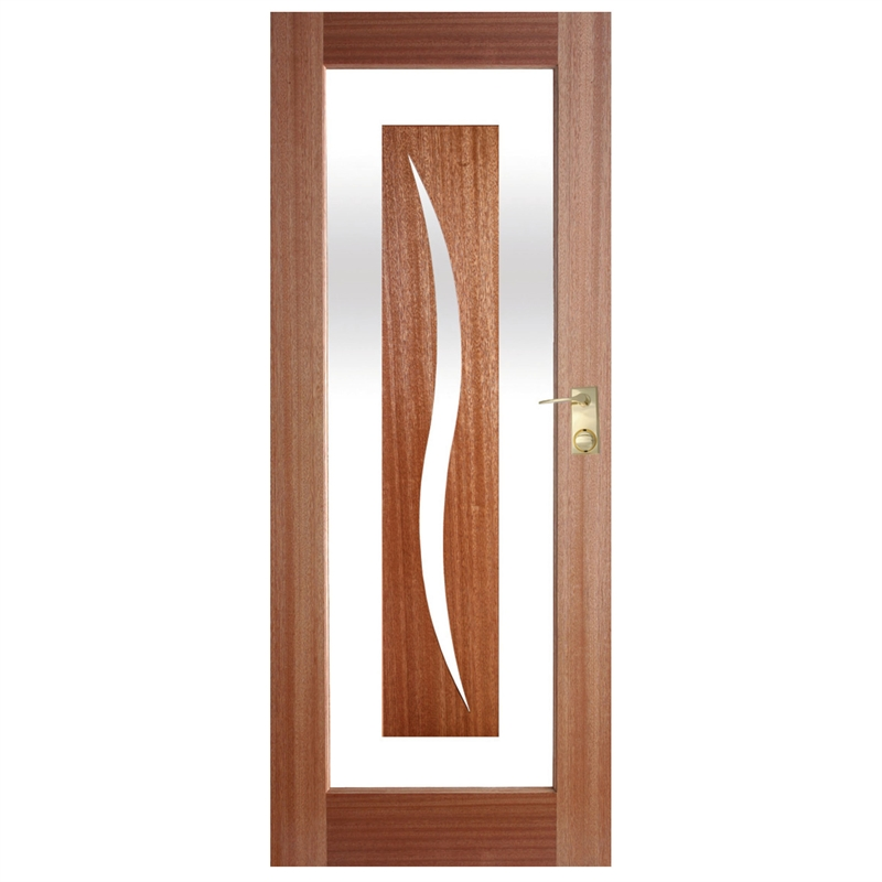 Hume doors timber 2040 x 820 x 40mm illusion entrance door for Outside entrance doors